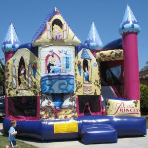 810_Princess_5_in1_bounce_house_rental